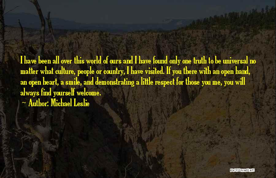 I Will Always Be There For You Quotes By Michael Leslie