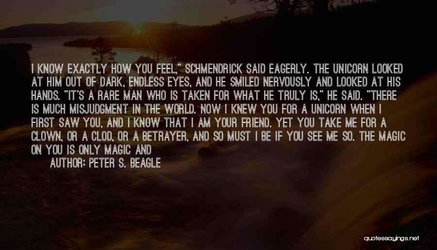 I Will Always Be There For You Quotes By Peter S. Beagle