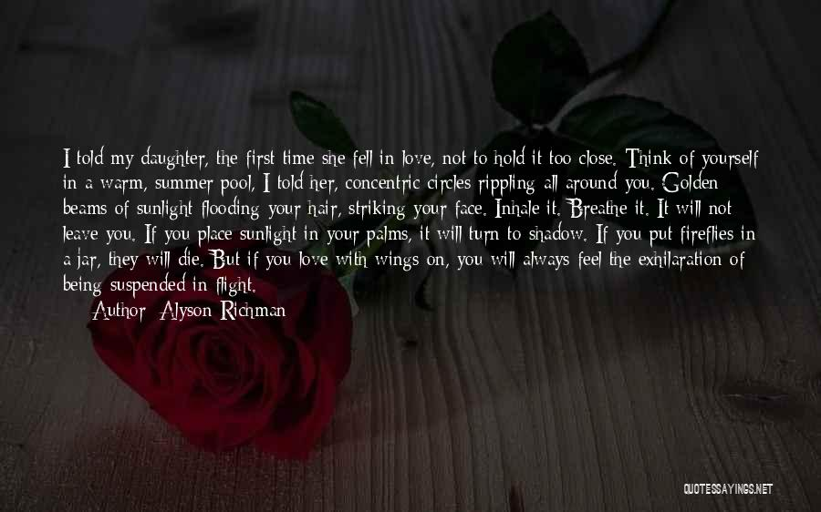 I Will Always Put You First Quotes By Alyson Richman