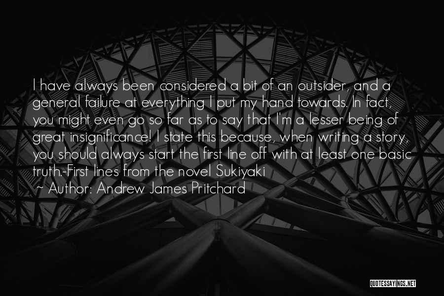 I Will Always Put You First Quotes By Andrew James Pritchard