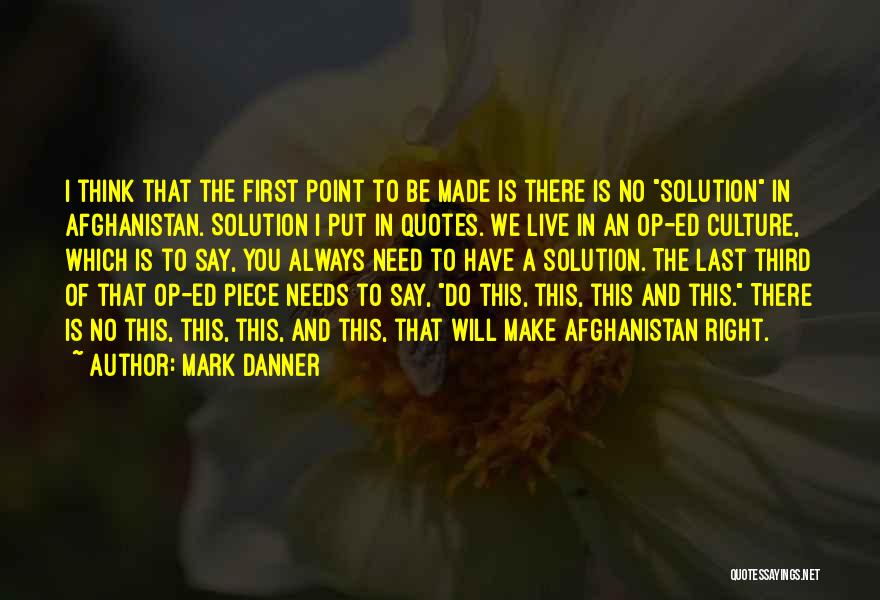 I Will Always Put You First Quotes By Mark Danner