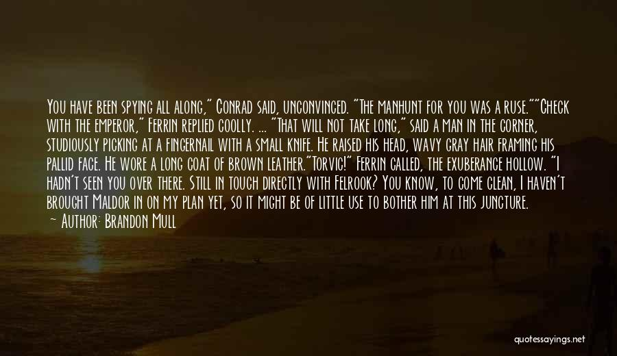 I Will Be Still Quotes By Brandon Mull