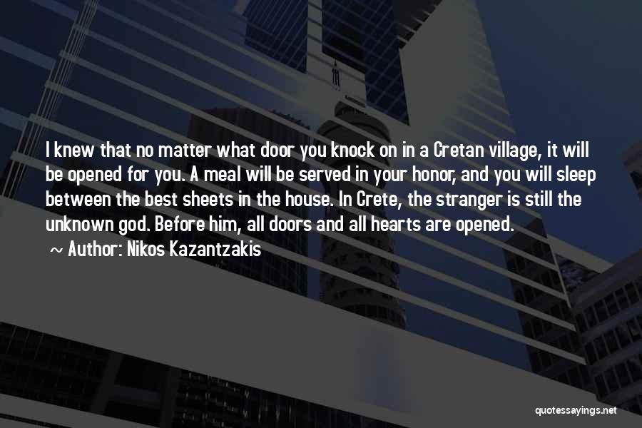 I Will Be Still Quotes By Nikos Kazantzakis