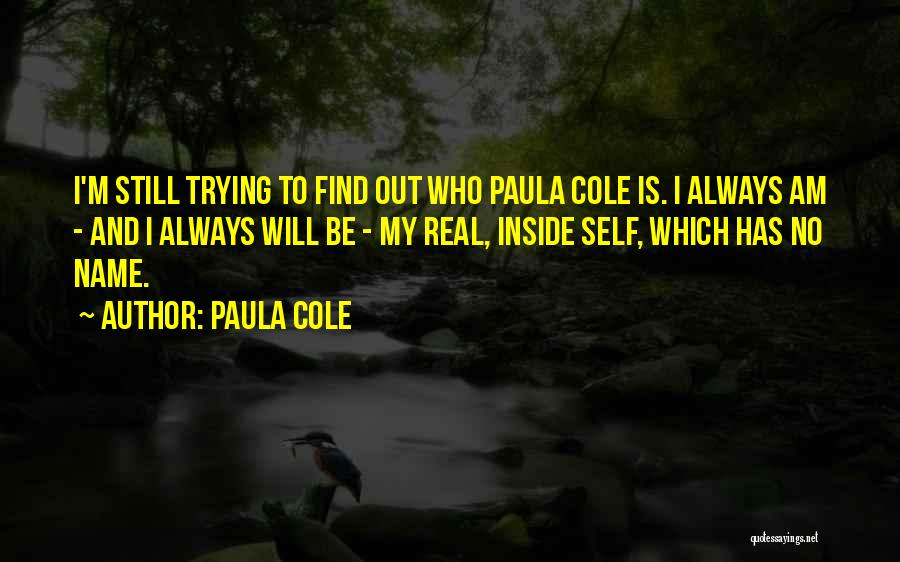 I Will Be Still Quotes By Paula Cole