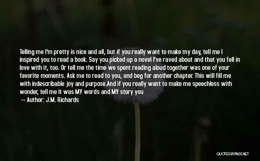 I Will Carry You Love Quotes By J.M. Richards