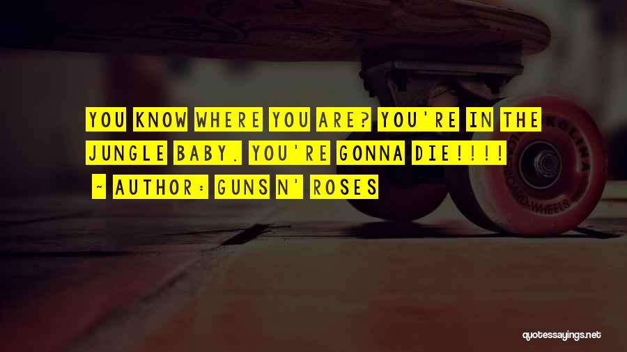 I Will Die For You Baby Quotes By Guns N' Roses