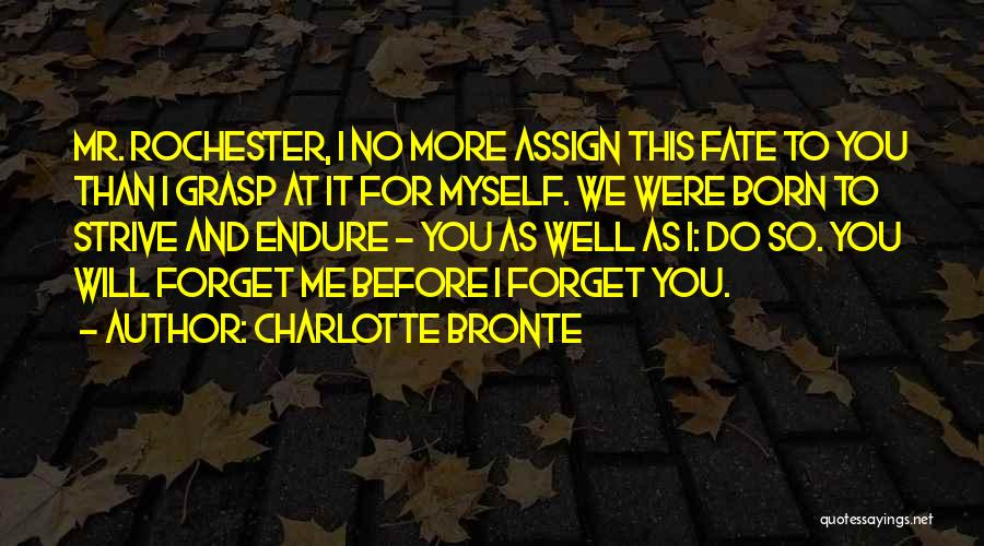 I Will Do It Quotes By Charlotte Bronte