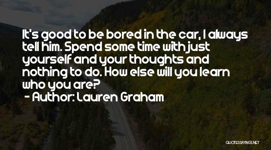 I Will Do It Quotes By Lauren Graham