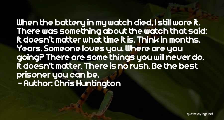 I Will Do My Best Quotes By Chris Huntington