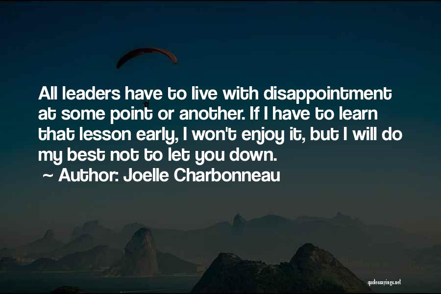 I Will Do My Best Quotes By Joelle Charbonneau