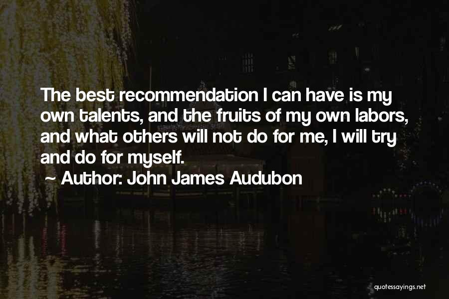 I Will Do My Best Quotes By John James Audubon