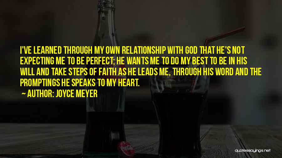 I Will Do My Best Quotes By Joyce Meyer