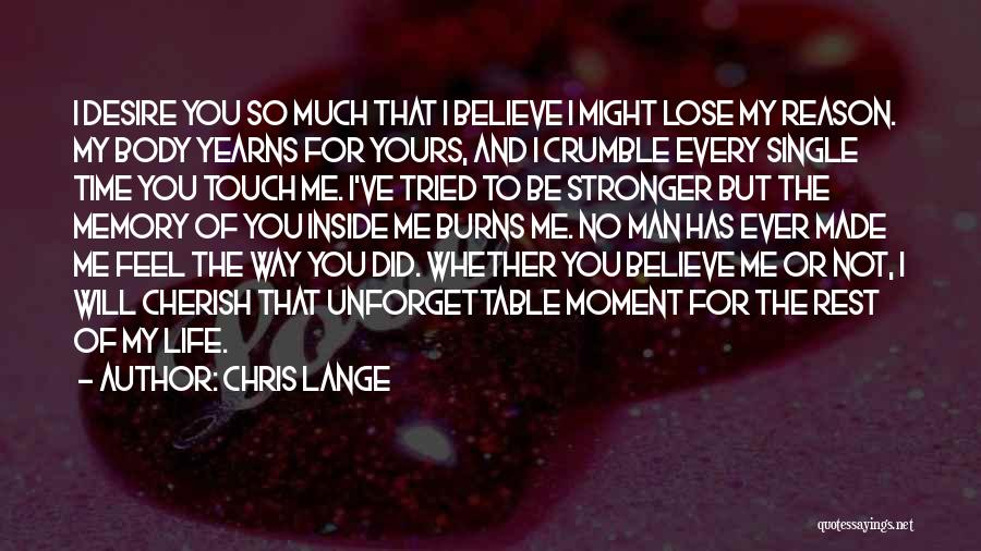 I Will Love You Forever And Ever Quotes By Chris Lange