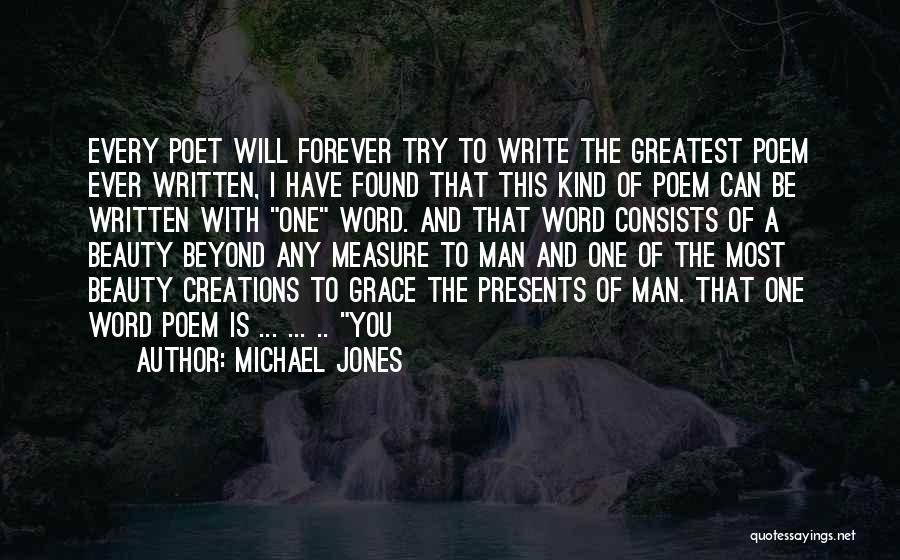 I Will Love You Forever And Ever Quotes By Michael Jones