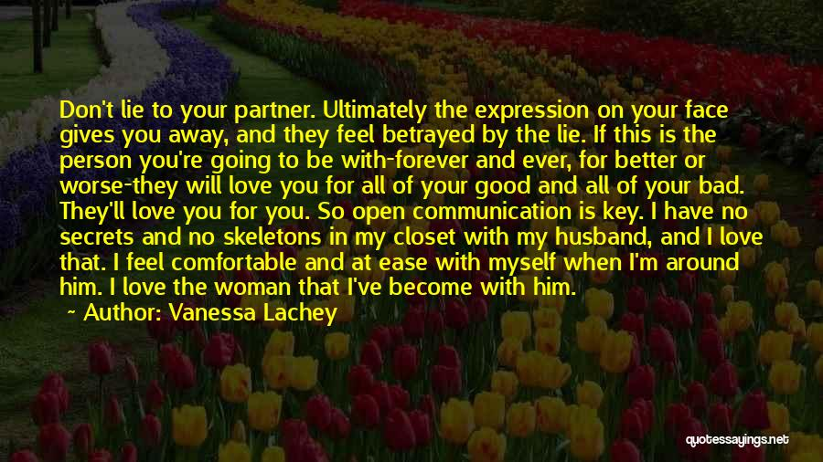 I Will Love You Forever And Ever Quotes By Vanessa Lachey