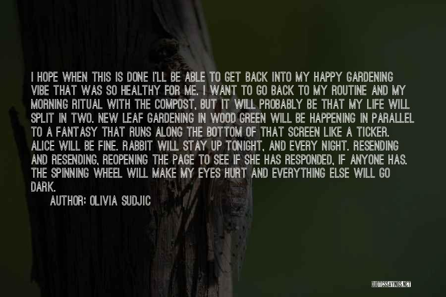 I Will Make My Life Quotes By Olivia Sudjic