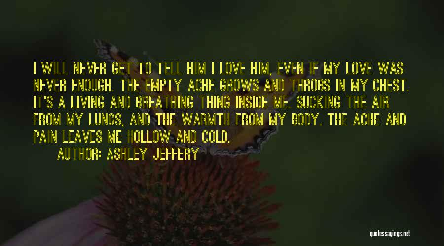 I Will Never Get Him Quotes By Ashley Jeffery