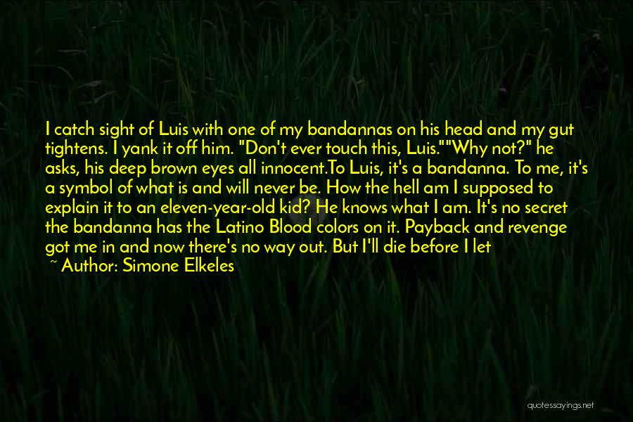 I Will Never Get Him Quotes By Simone Elkeles