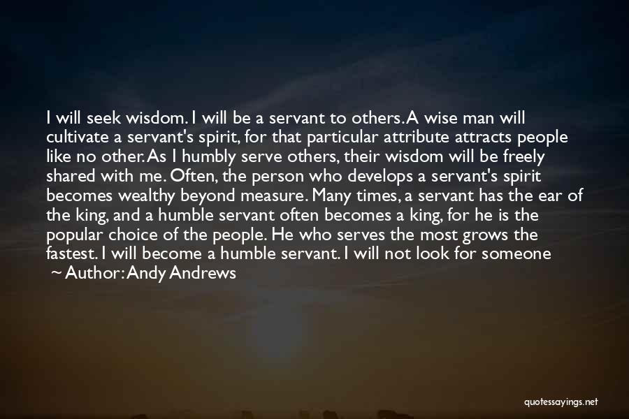I Will Not Care Quotes By Andy Andrews