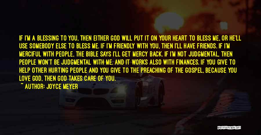 I Will Not Care Quotes By Joyce Meyer