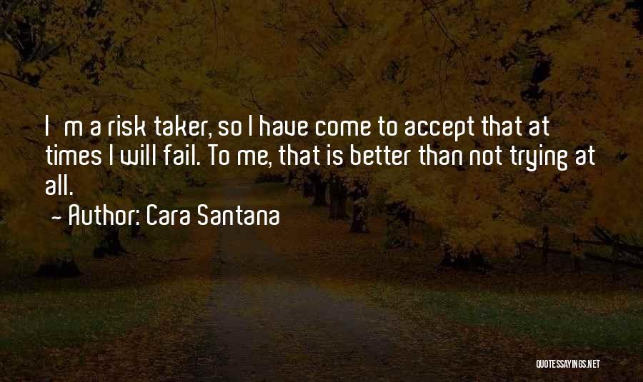 I Will Not Fail Quotes By Cara Santana
