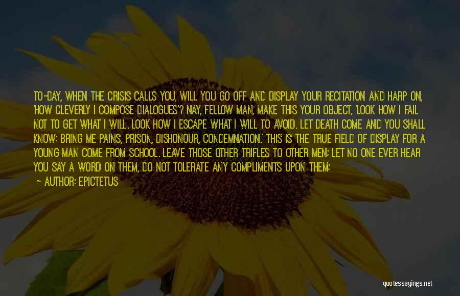 I Will Not Fail Quotes By Epictetus