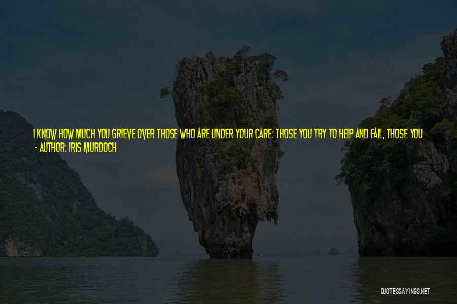 I Will Not Fail Quotes By Iris Murdoch
