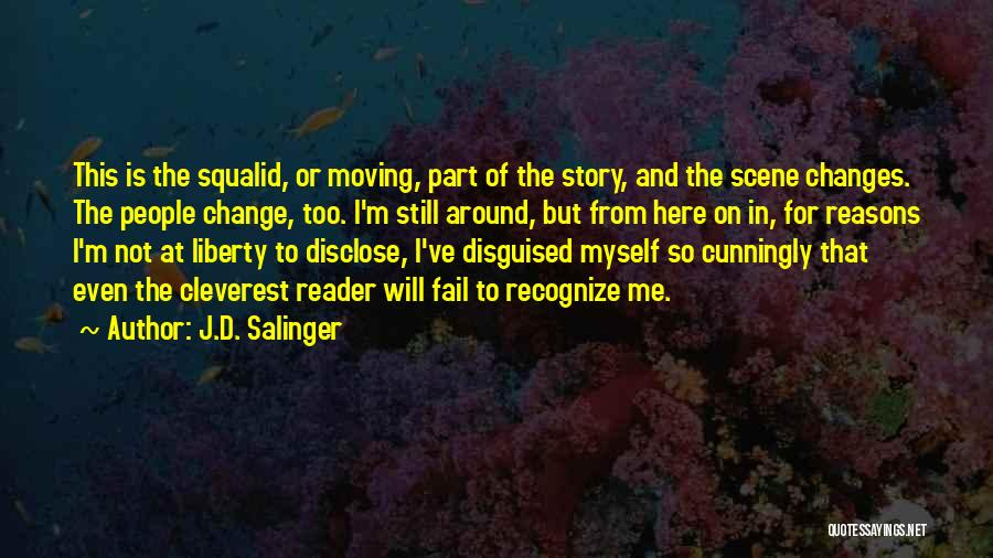I Will Not Fail Quotes By J.D. Salinger