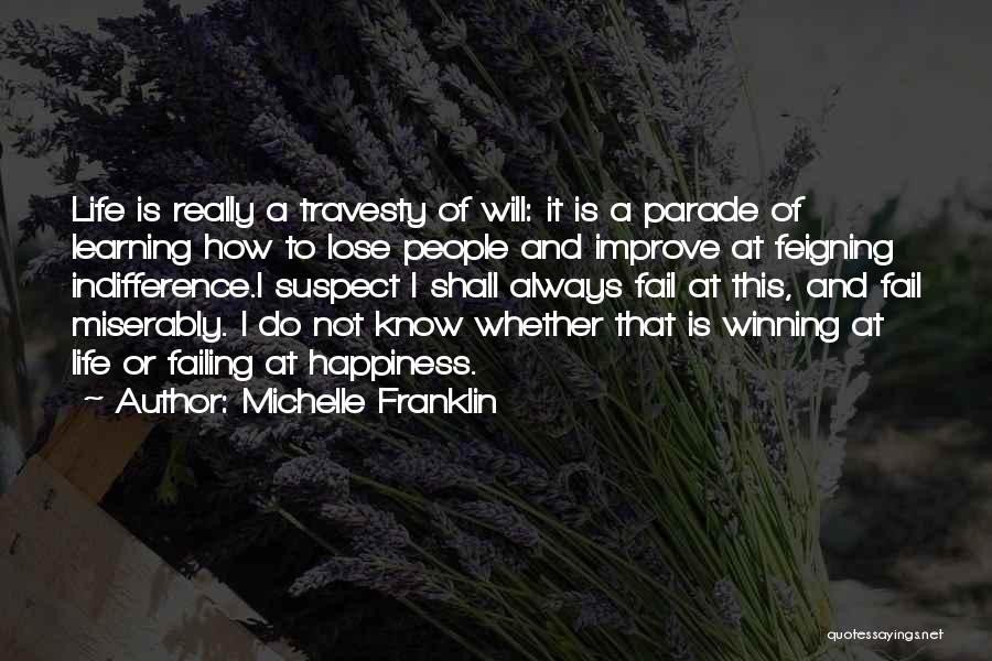 I Will Not Fail Quotes By Michelle Franklin