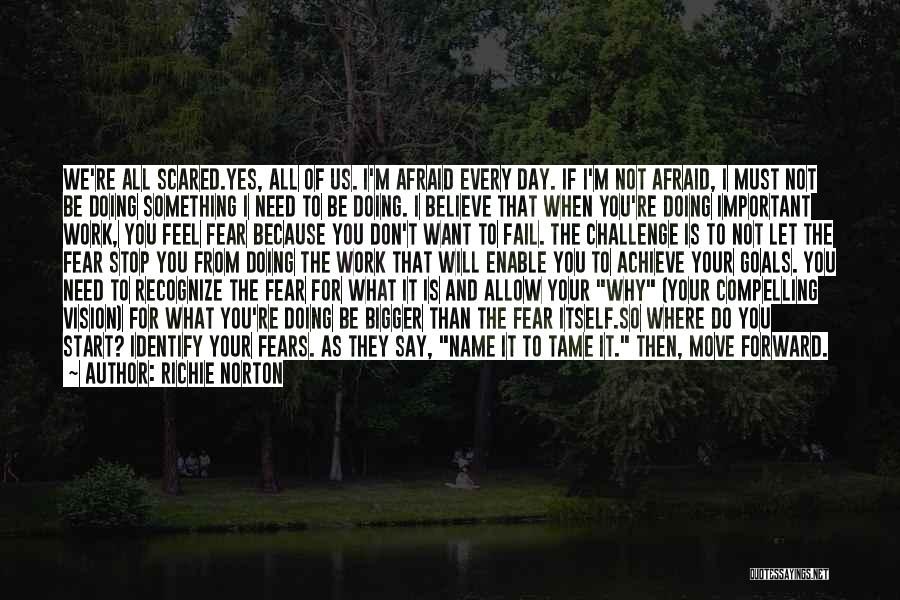 I Will Not Fail Quotes By Richie Norton