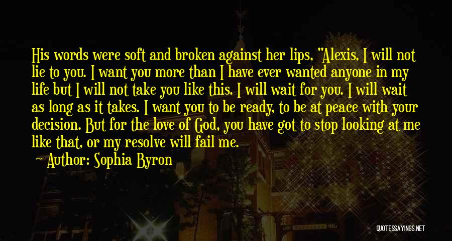 I Will Not Fail Quotes By Sophia Byron