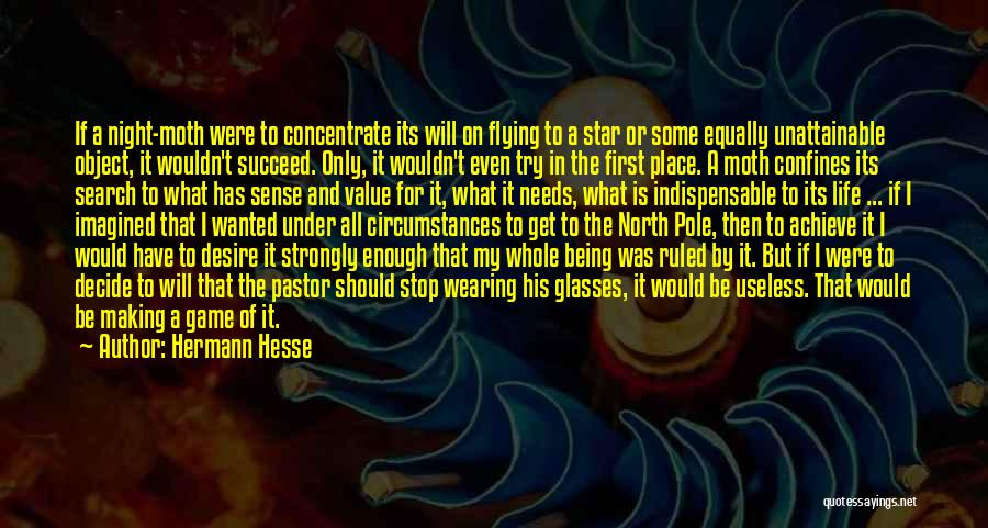 I Will Succeed In Life Quotes By Hermann Hesse