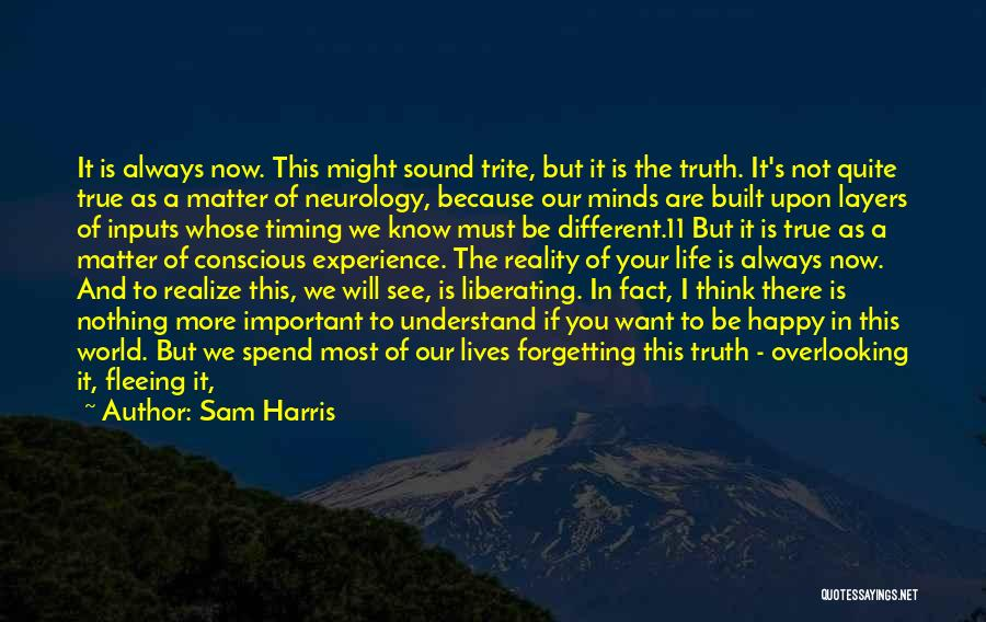 I Will Succeed In Life Quotes By Sam Harris