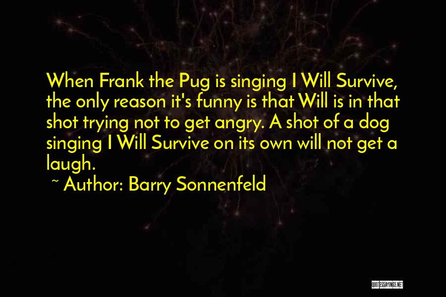 I Will Survive Funny Quotes By Barry Sonnenfeld
