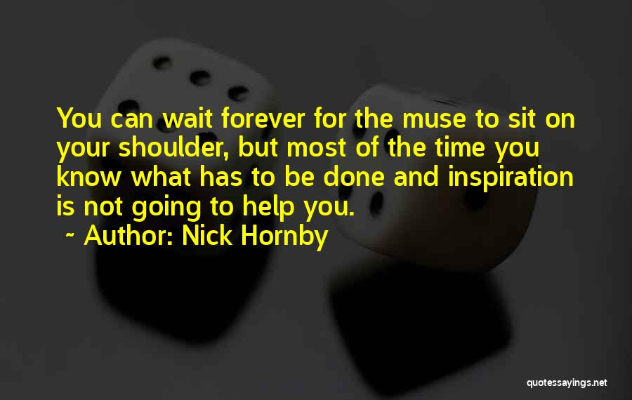 I Will Wait You Forever Quotes By Nick Hornby
