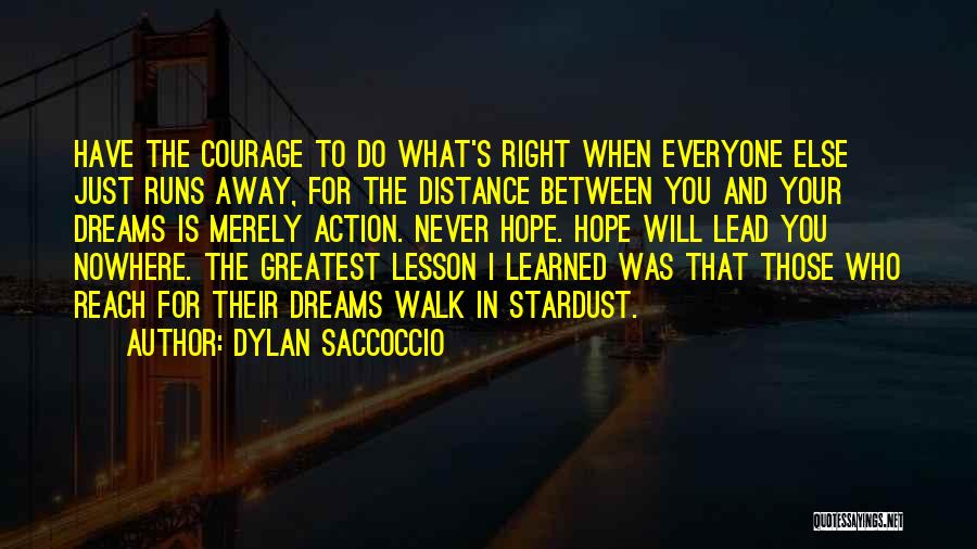 I Will Walk Away Quotes By Dylan Saccoccio