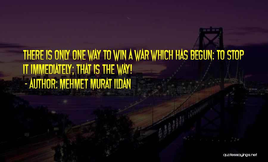 I Will Win Not Immediately Quotes By Mehmet Murat Ildan