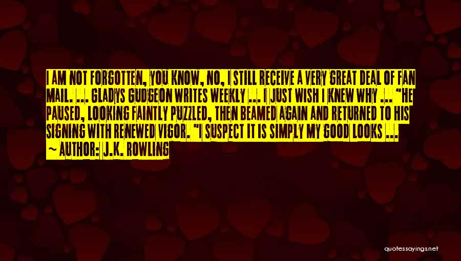 I Wish I Knew Then Quotes By J.K. Rowling
