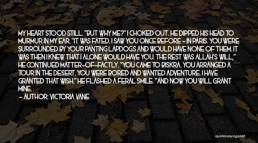 I Wish I Knew Then Quotes By Victoria Vane