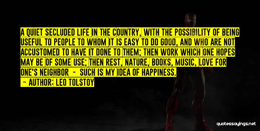 I Wish Life Could Be Easy Quotes By Leo Tolstoy