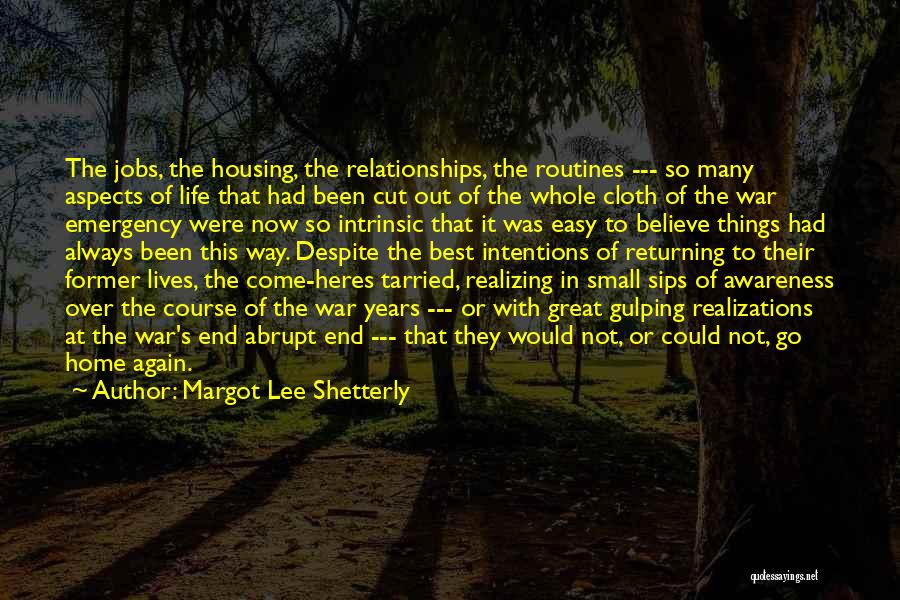 I Wish Life Could Be Easy Quotes By Margot Lee Shetterly