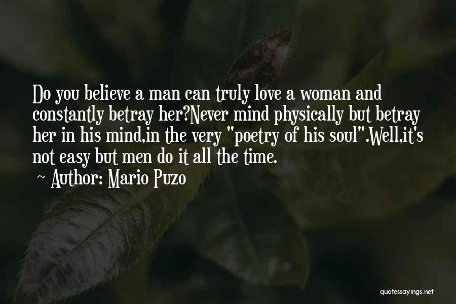 I Wish Life Could Be Easy Quotes By Mario Puzo