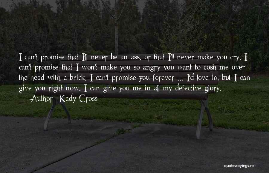 I Won't Give Up Love Quotes By Kady Cross