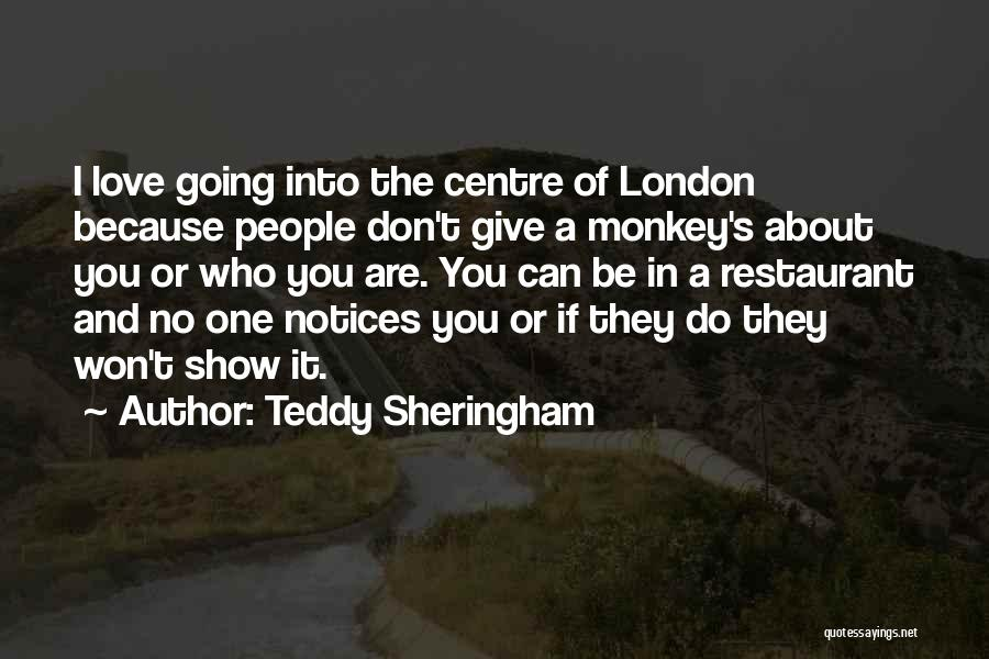 I Won't Give Up Love Quotes By Teddy Sheringham