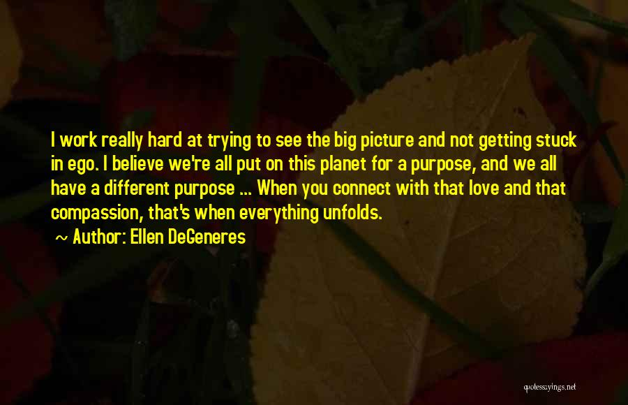 I Work Hard For Everything I Have Quotes By Ellen DeGeneres