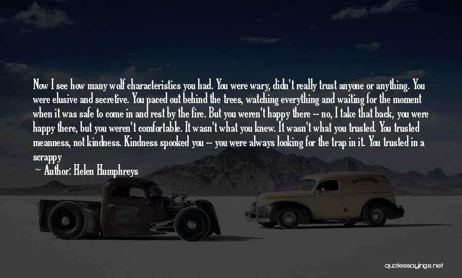 I Would Do Anything To Get You Back Quotes By Helen Humphreys