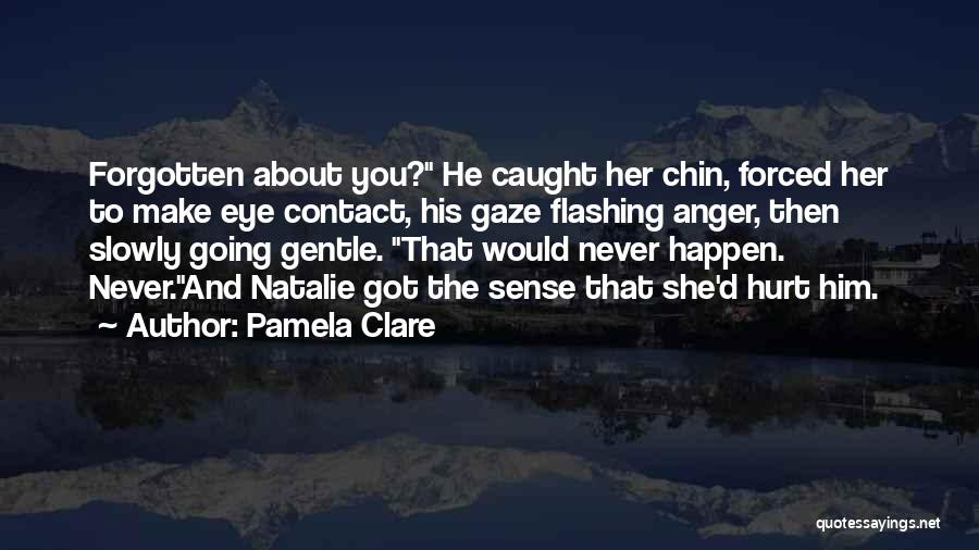I Would Never Hurt You Quotes By Pamela Clare