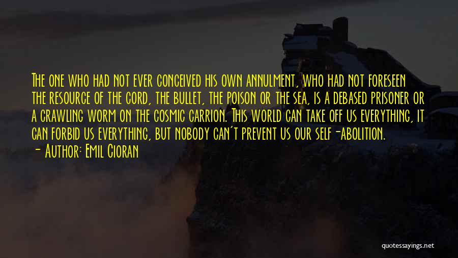 I Would Take A Bullet For You Quotes By Emil Cioran