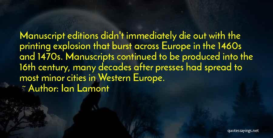 Ian Lamont Quotes 1472097
