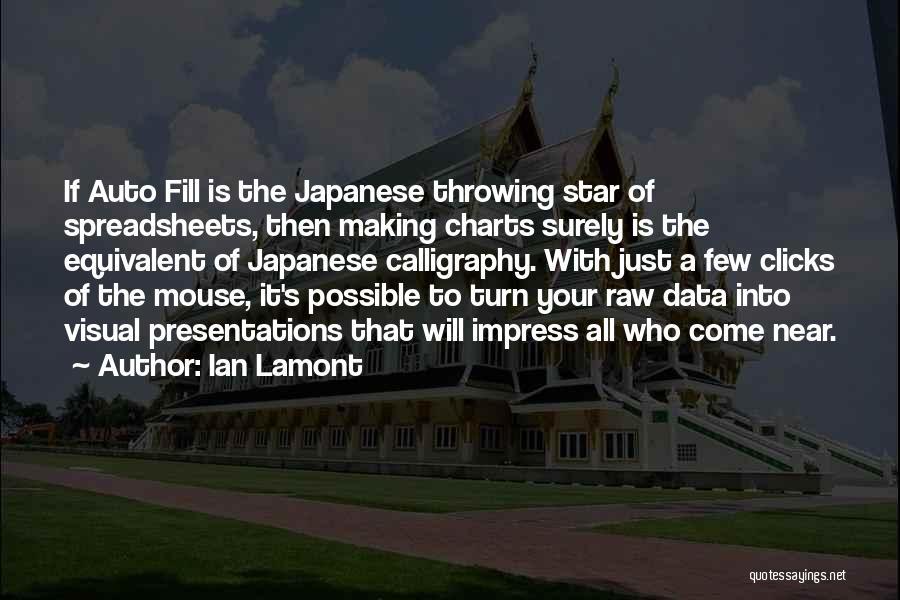 Ian Lamont Quotes 306112